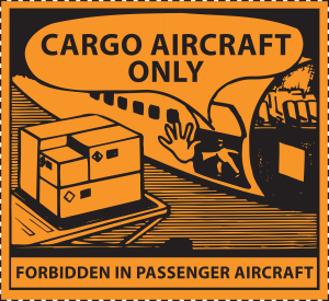 Fareseddel CAO (Cargo Aircraft Only)
