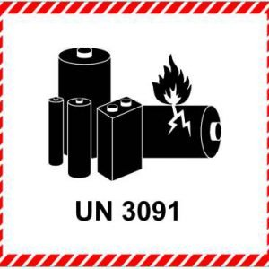lithiummetalbatteri i udstyr-un3091